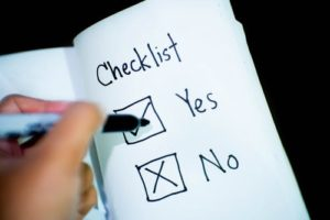long-term care checklist