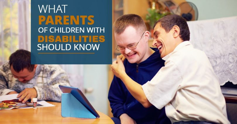WHAT PARENTS OF CHILDREN WITH DISABILITIES SHOULD KNOW-MichaelHuguelet
